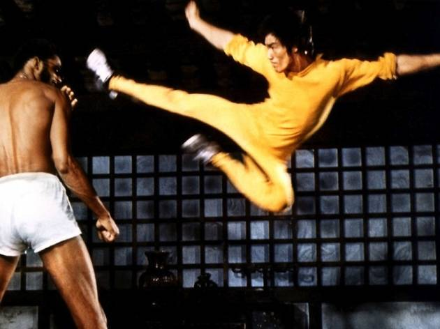 'Le Jeu de la mort' (1978) (Scène finale, David contre Goliath)