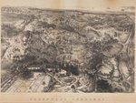 Birds-eye view of Green-Wood Cemetery, lithograph by John Bachmann, circa 1852