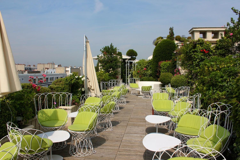 Rooftop : Paris vue du ciel