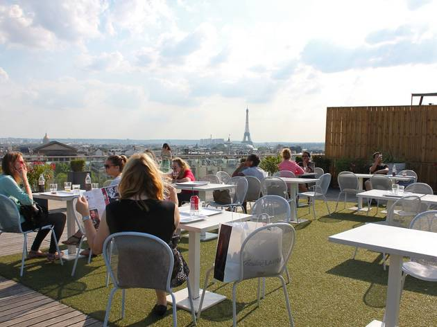 Terrasse Du Printemps Bars 224 Chauss 233 E D Antin Paris