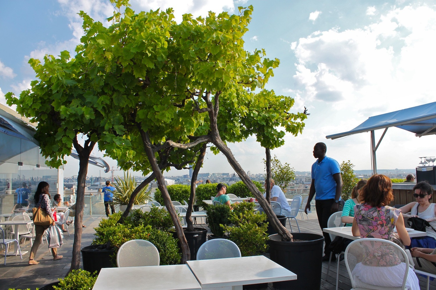 Terrasse du Printemps © C. Griffoulières - Time Out Paris