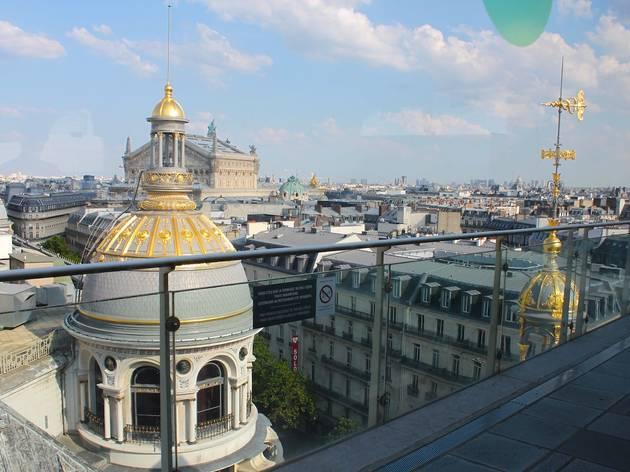 Terrasse du printemps bars chauss e d 39 antin paris - Printemps place d italie horaires ...