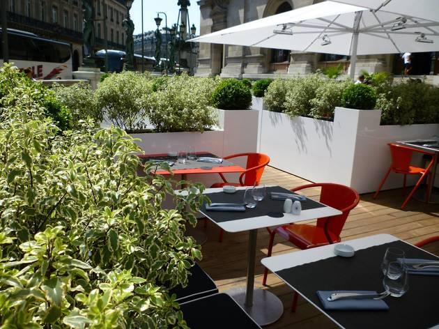 terrasse de l 39 op ra bars chauss e d 39 antin paris. Black Bedroom Furniture Sets. Home Design Ideas