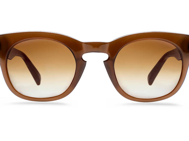 Warby Parker round-frame sunglasses, $150