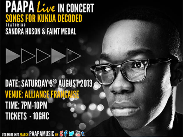 Paapa in Concert, Alliance Francaise, Accra