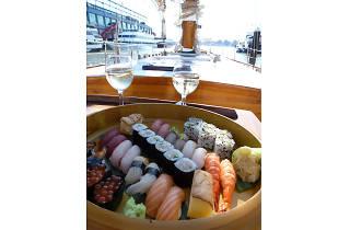 Morimoto Sushi & Sake Sunset Sail on America 2.0