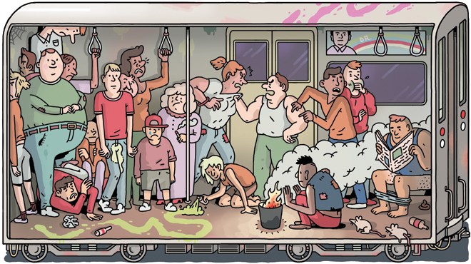 Worst subway lines: TONY on NYC's most awful trains