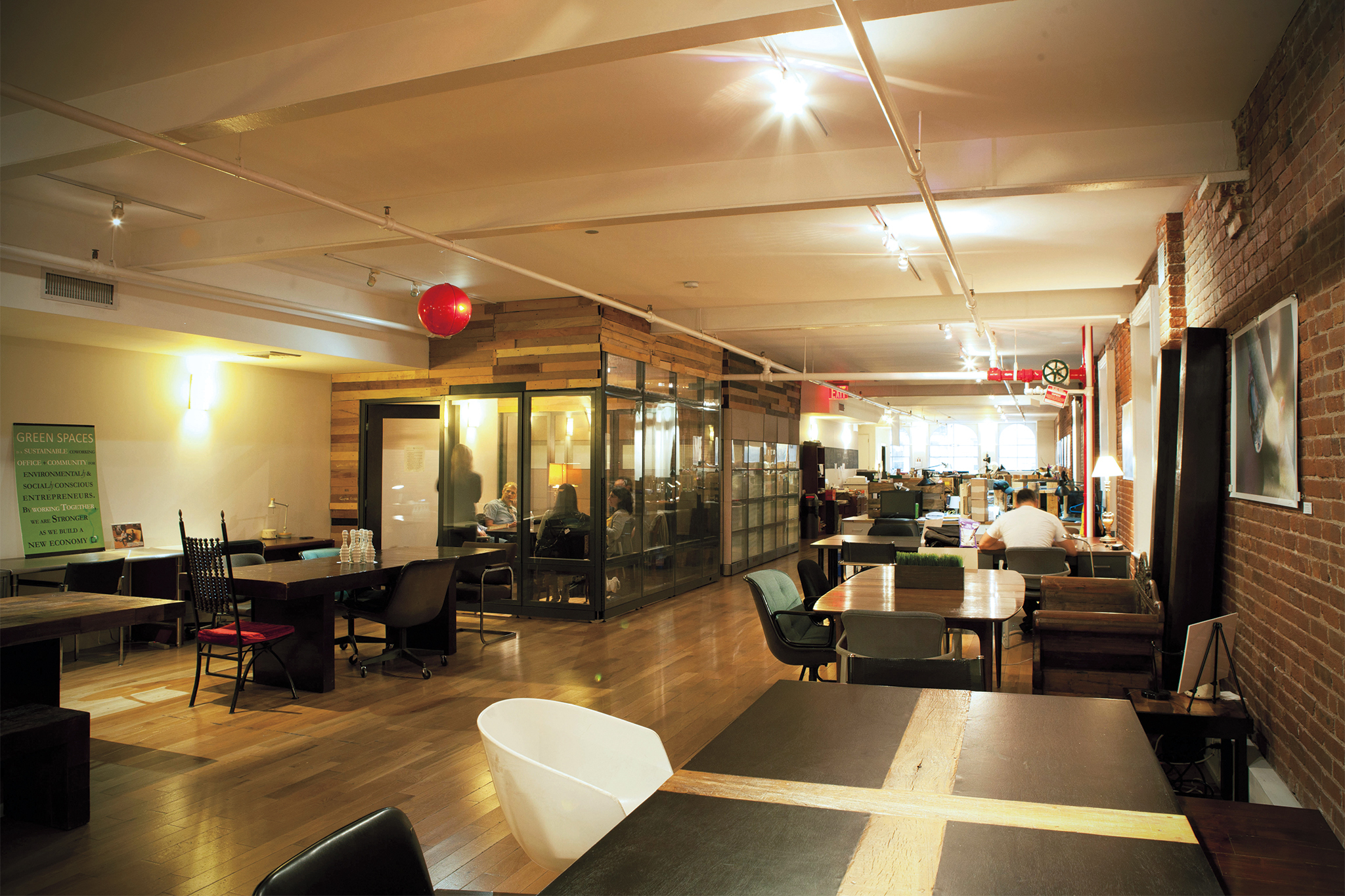 NYC offices: coolest co-working spaces in New York City