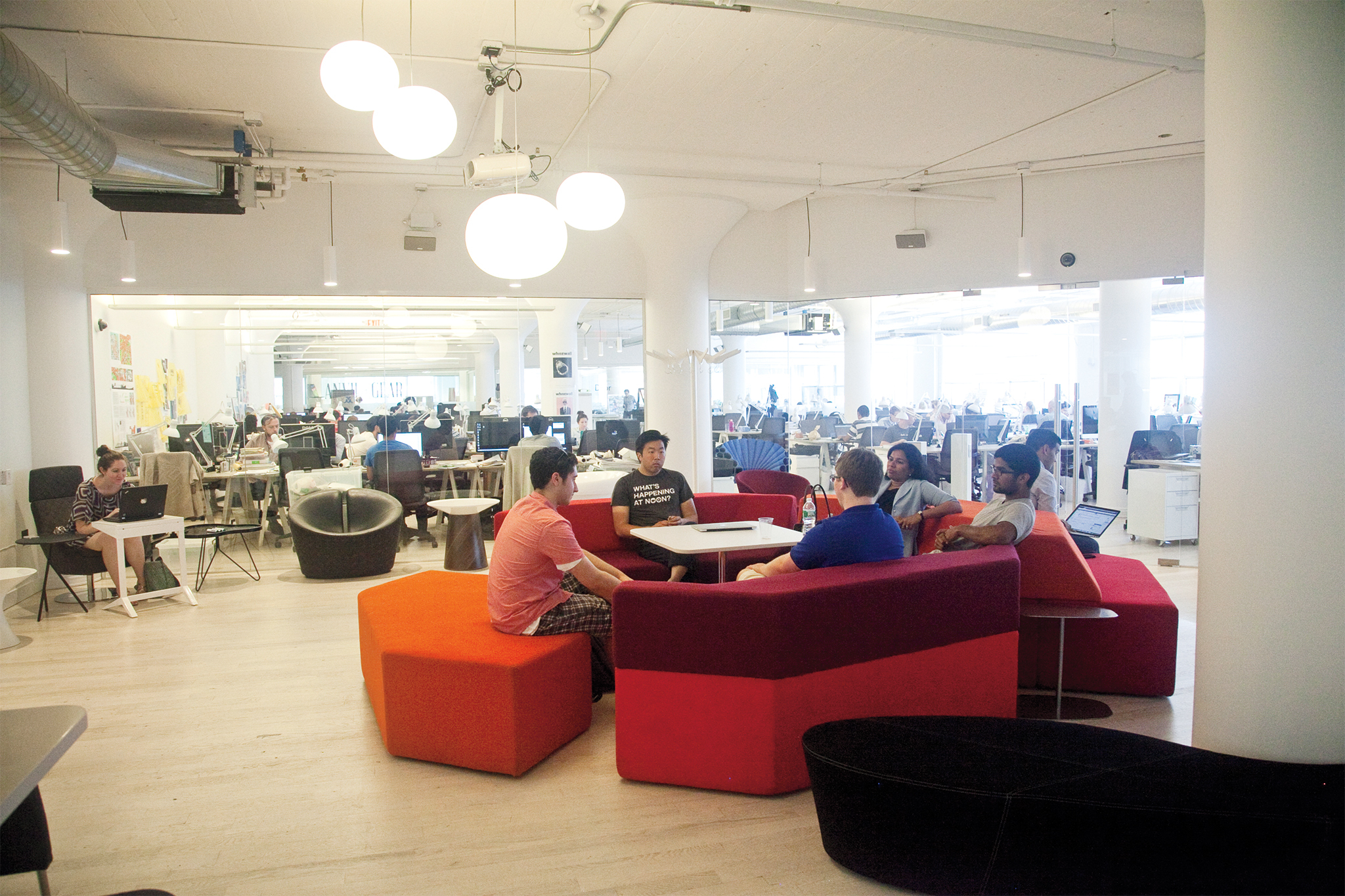 For perks galore: WeWork
