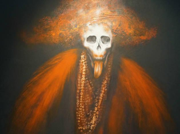 Rafael Coronel: Mano Negra. Pintura y Escultura