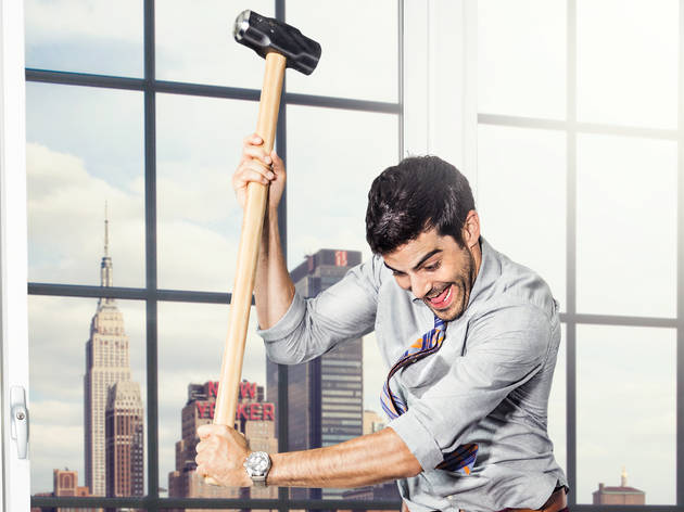 Most NYC companies—even the start-ups—won't let you smash office furniture with a mallet, but other perks abound
