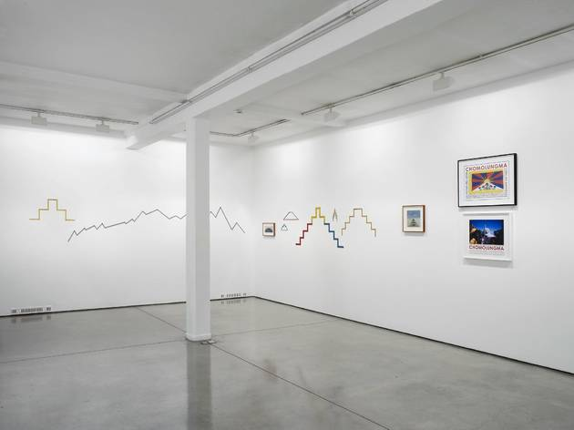 Hamish Fulton (Exhibition view)