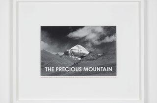Hamish Fulton ('The precious mountain. Tibet. 2011