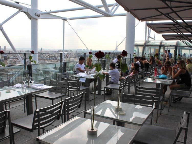 Restaurant Le Georges - Centre Pompidou