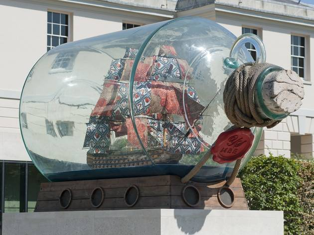 Curator Tours of Yinka Shonibare MBE at Greenwich