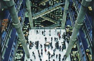 Lloyd's of London (1978-1986, Richard Rogers Partnership)