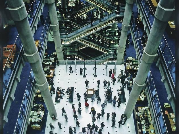 Lloyd's of London (1978-1986, Richard Rogers Partnership)