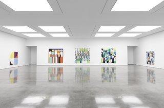 Sarah Morris ('Bye Bye Brazil' installation view)