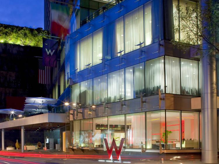 Hotel W: bar y restaurante