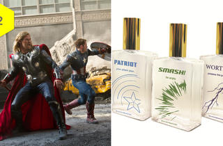 'The Avengers' cologne set