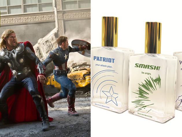 'The Avengers' cologne set