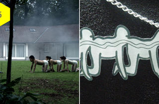 'The Human Centipede' necklace
