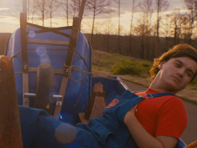 Emile Hirsch, star of Prince Avalanche