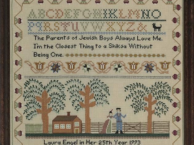 """Elaine Reichek: A Postcolonial Kinderhood Revisited"""