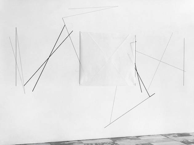 """Dorothea Rockburne: Drawing Which Makes Itself"""