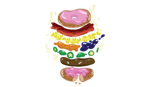 Weird burgers
