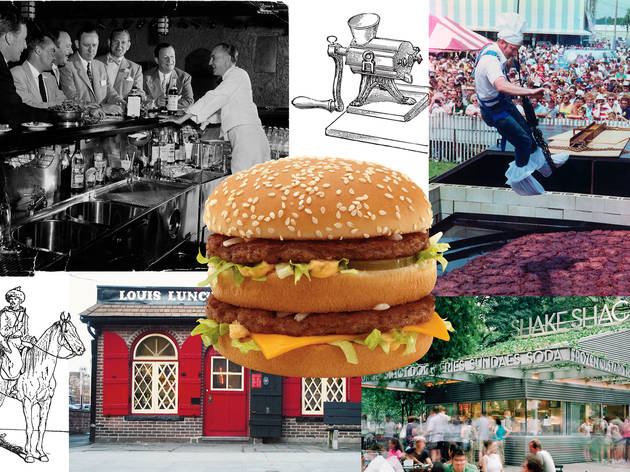 The history of the hamburger: An American invention