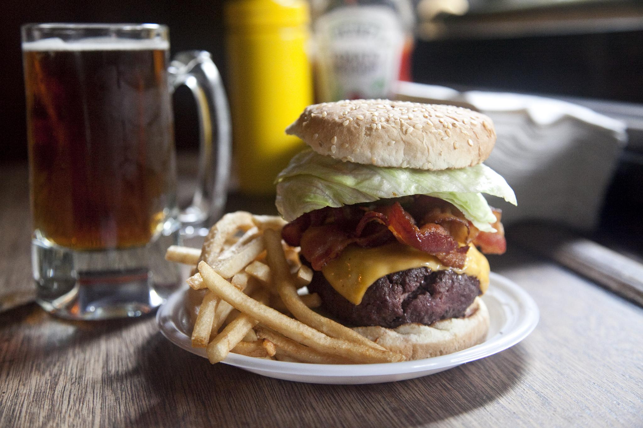 Bistro Burger at Corner Bistro