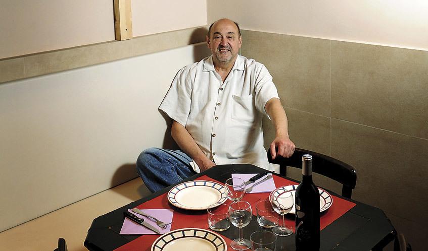 Guy Monrepos del restaurant Au Port de la Lune