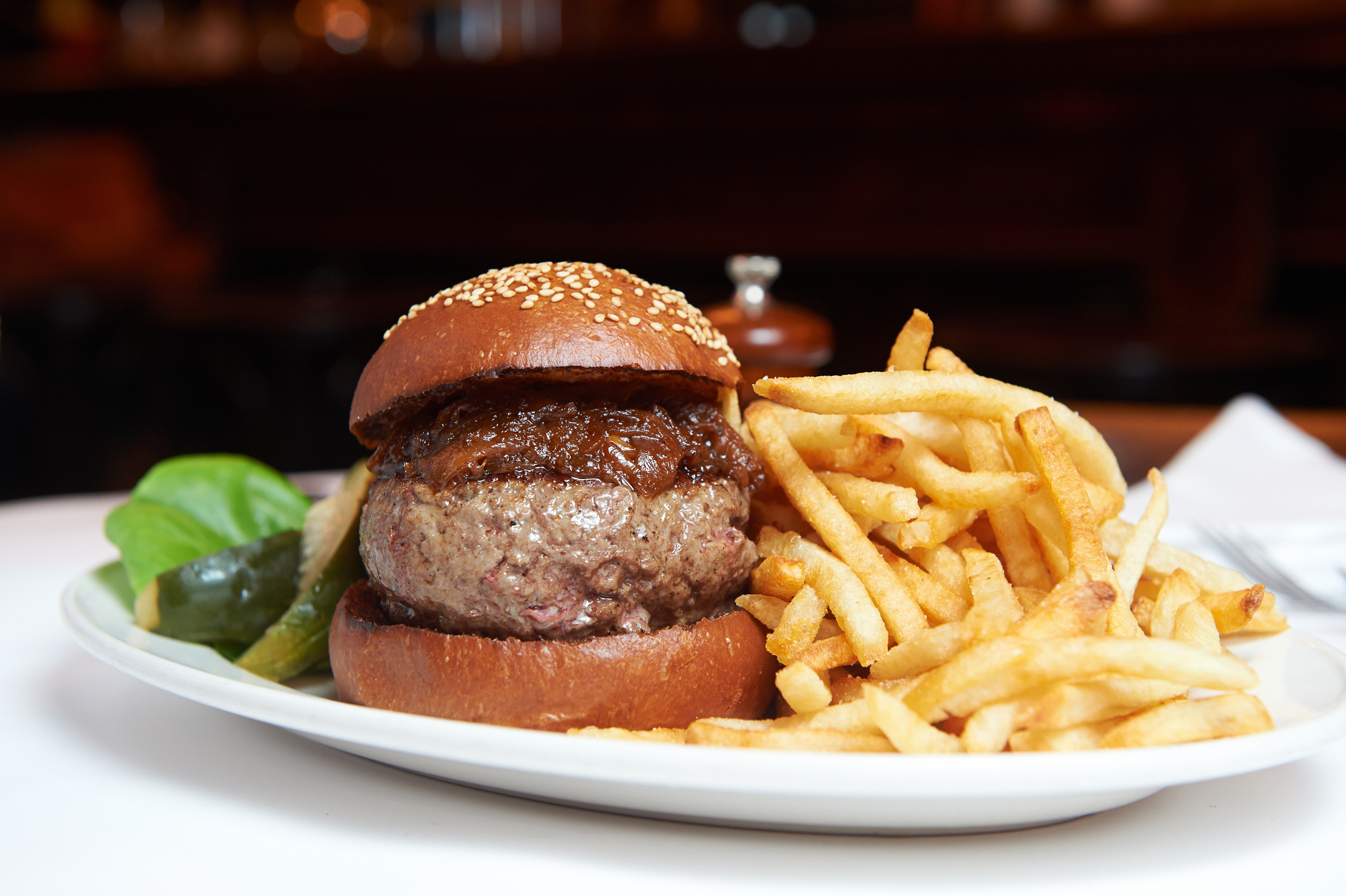 100 Best Restaurants In Nyc You Need To Try French Fries 2000 150 Gr Black Label Burger At Minetta Tavern