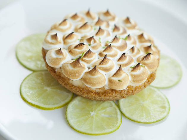 Key lime pie at Fishing with Dynamite