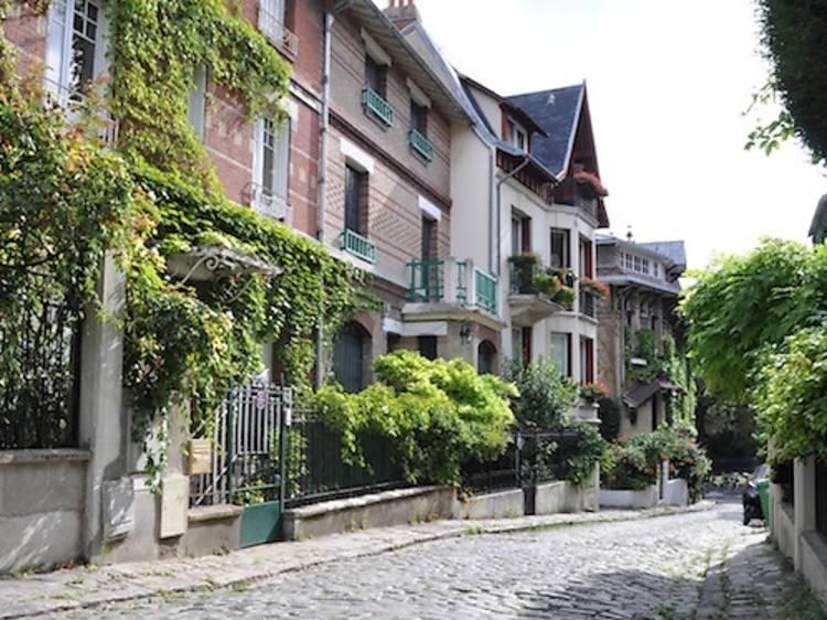 Le square Montsouris, 14e