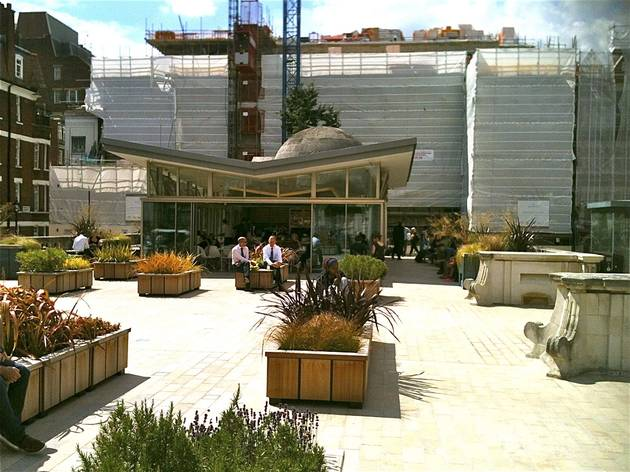 The Garden Cafe (W1)