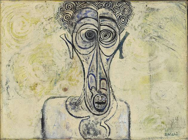 Ibrahim El-Salahi ('Self-Portrait of Suffering', 1961)