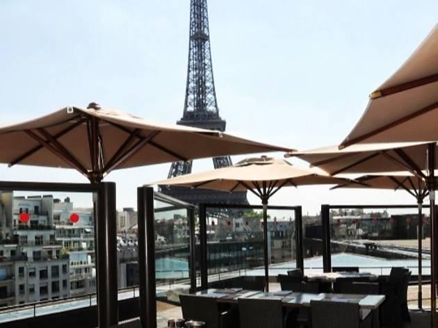 les ombres restaurants in 7e arrondissement paris. Black Bedroom Furniture Sets. Home Design Ideas