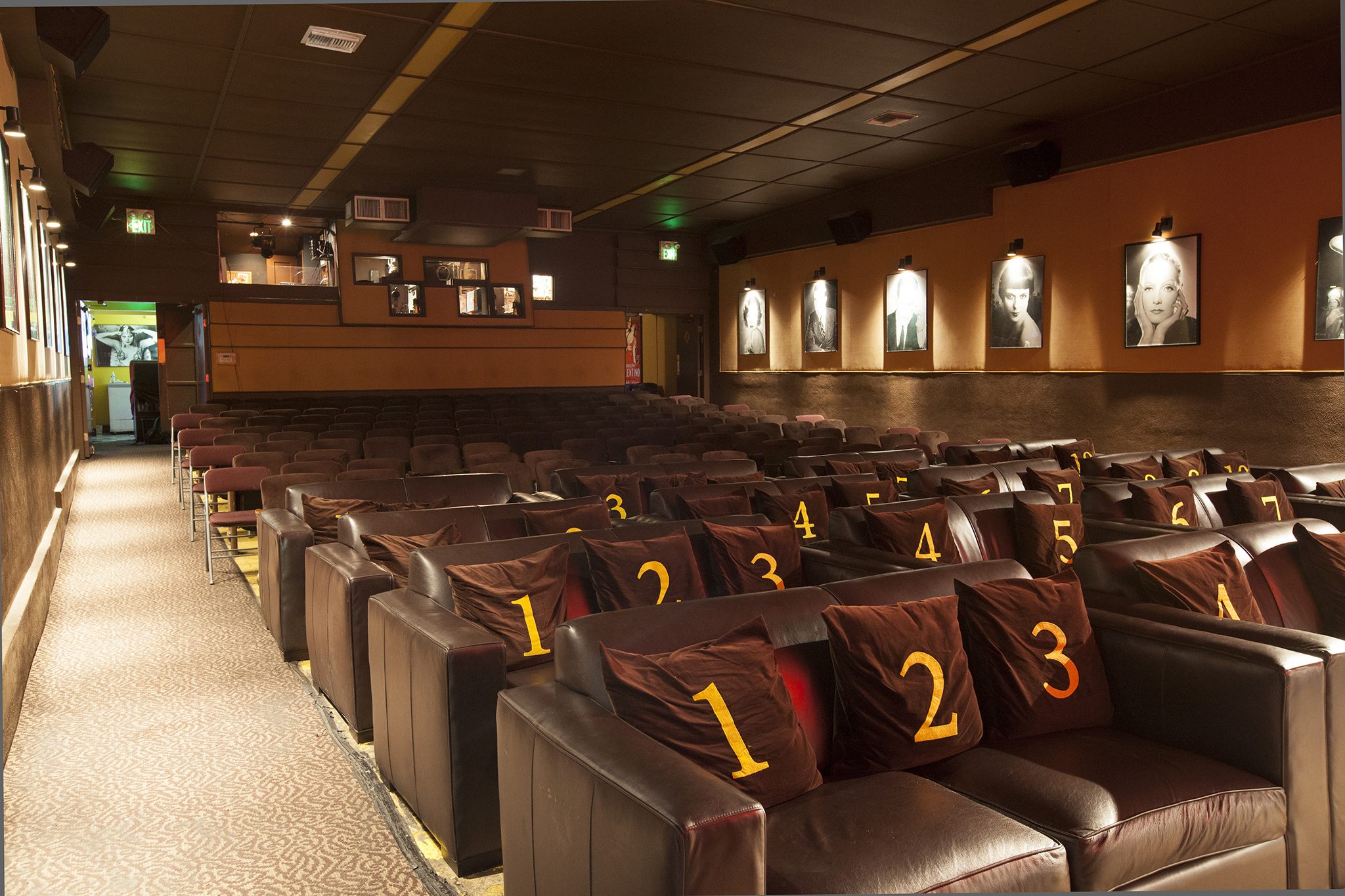 Rave movie theater in denton