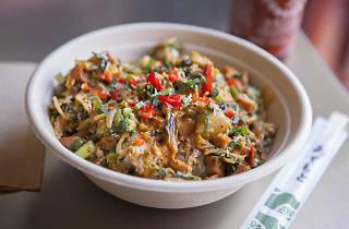 Kimchi spam bowl at Chego