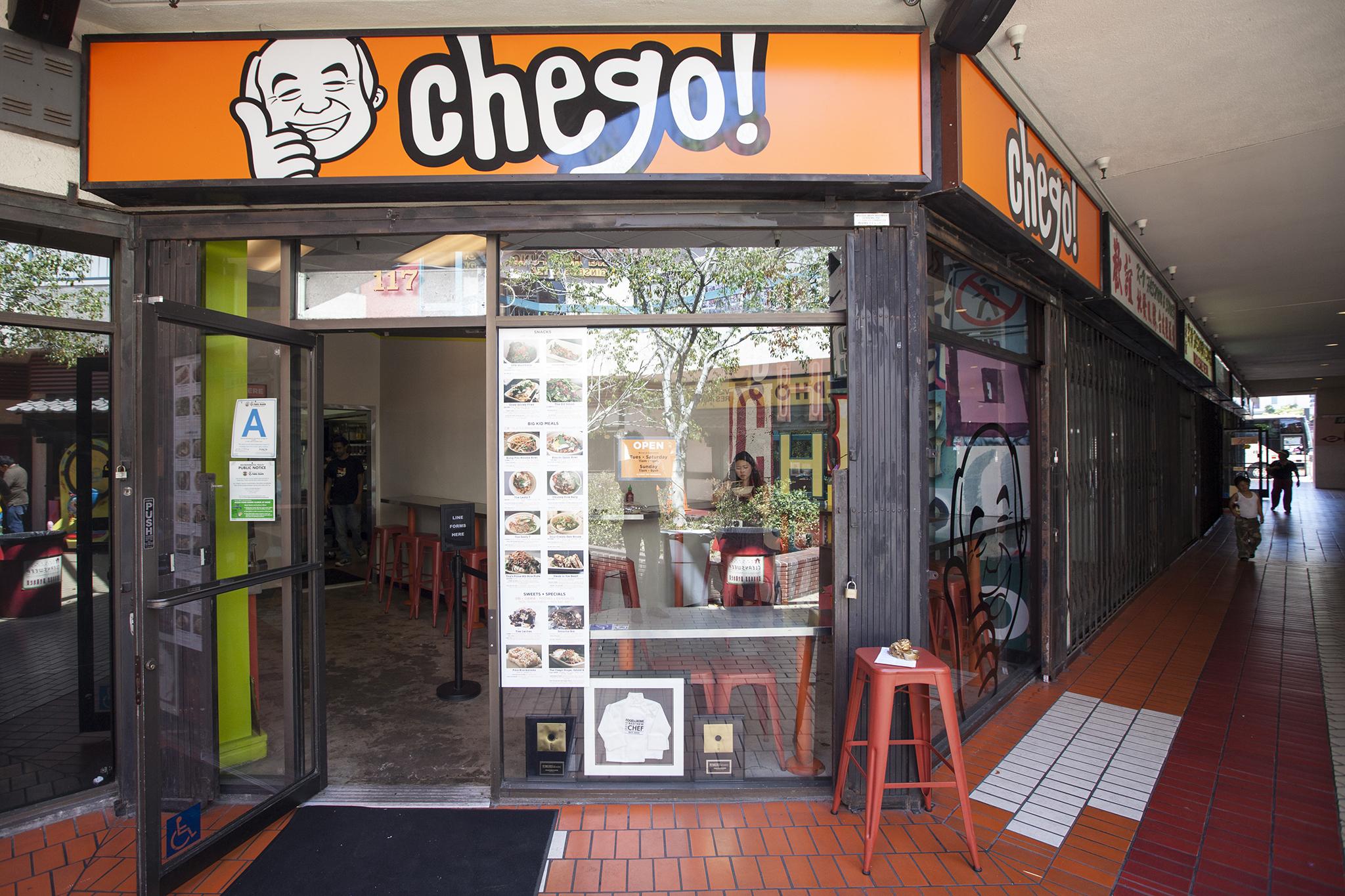 <p>Chego</p>