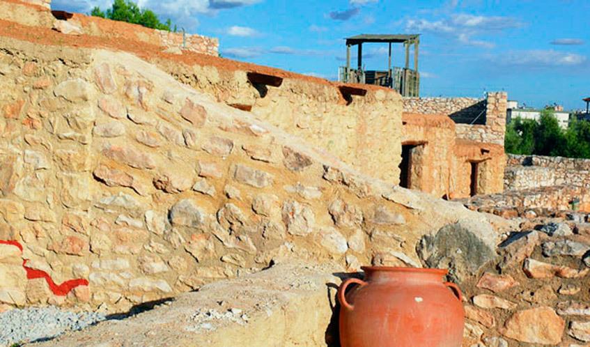 Jaciment iber Calafell La Ciutadella