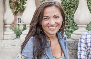 Emily Kruszynski (28, secondary-school art teacher in London)