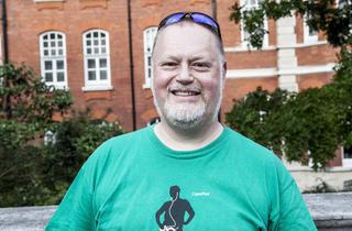 Nick Breckenfield (52, freelance music journalist from Poplar)