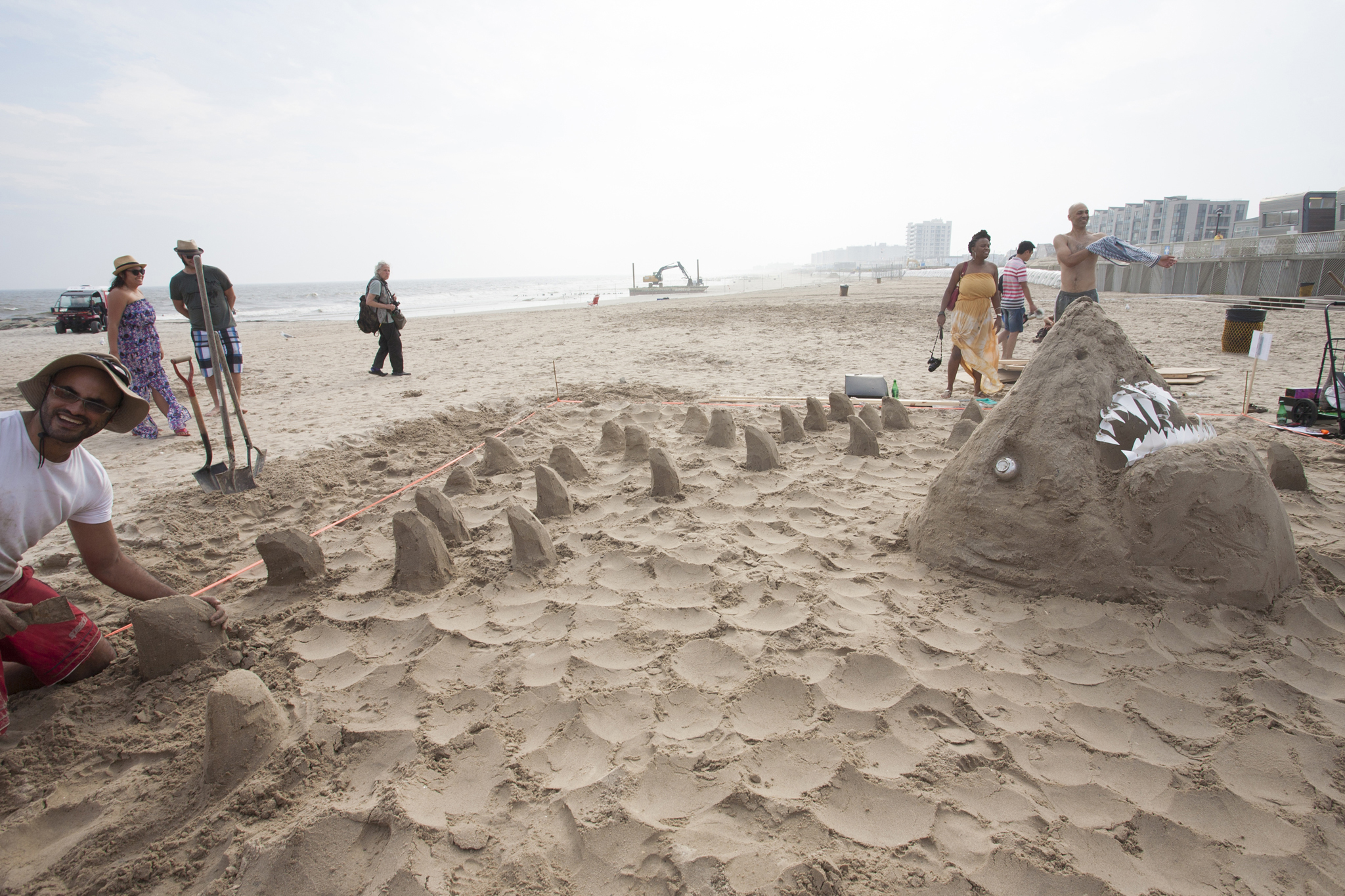 Second Annual Creative Time Sandcastle Competition
