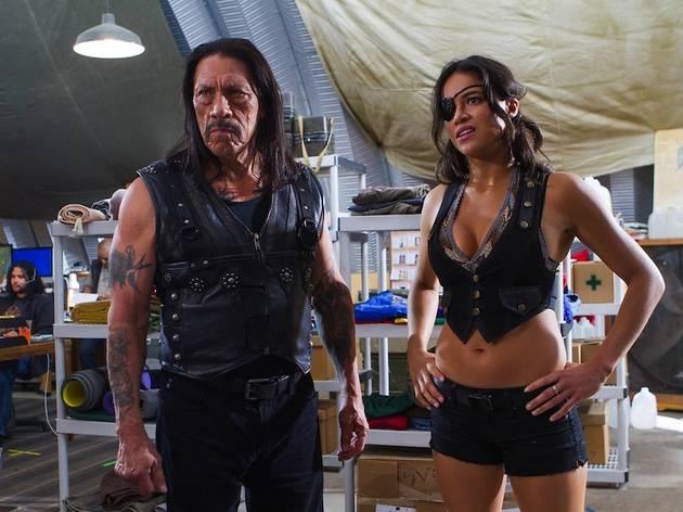 Machete Kills (de Robert Rodriguez, avec Danny Trejo, Jessica Alba, Michelle Rodriguez, Mel Gibson, Charlie Sheen et Lady Gaga)