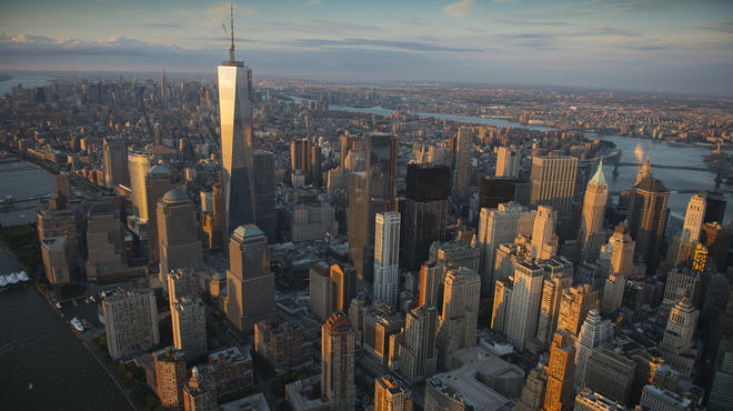 Aerial photographs of NYC by Jason Hawkes
