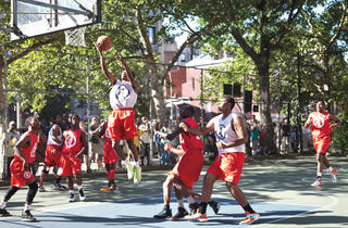 """West 4th Street Courts aka """"The Cage"""""""