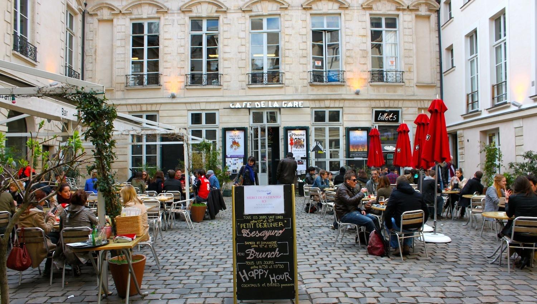 Terrasse du Café de la Gare